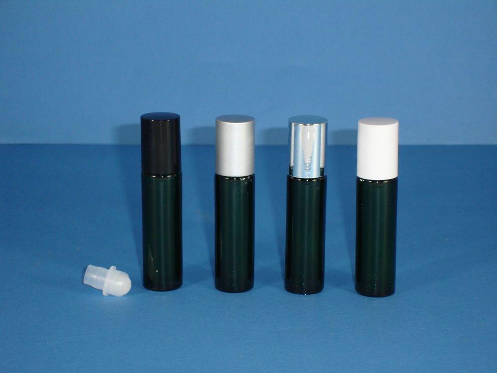 Green Glass Rollette Closure