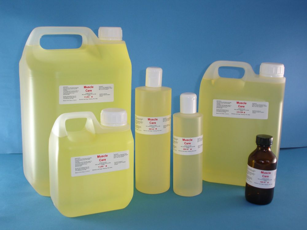Muscle Care Oil Blend