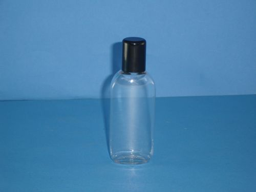 Clear Plastic Oval Plastic Bottle 75ml (SO006)