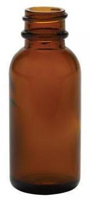 amber winchester glass bottle
