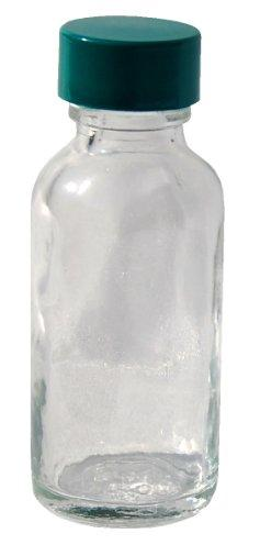 clear round glass 10ml bottle