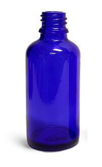blue fleur bottle