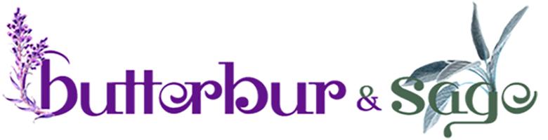 www.butterburandsage.com, site logo.