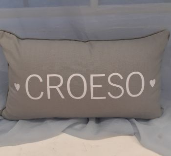 Clustog croeso  / Welcome cushion