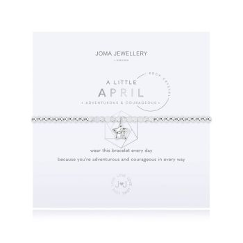 "Joma Jewellery ""A little Birthstone April Rock Crystal"""