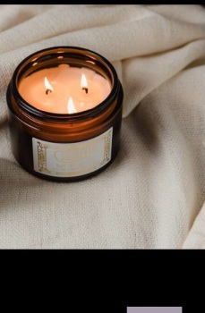 Large 3 wick candle, Hiraeth