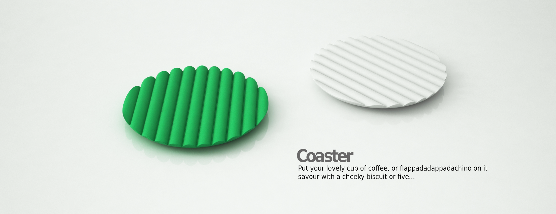 Coaster for cups