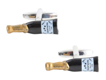 Champagne Bottle Cufflinks