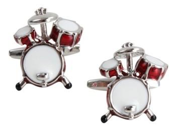Drumkit Cufflinks