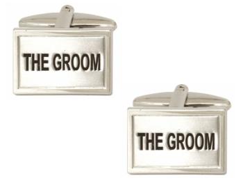 The Groom Cufflinks