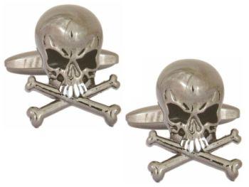 Skull and Crossbones Cufflinks