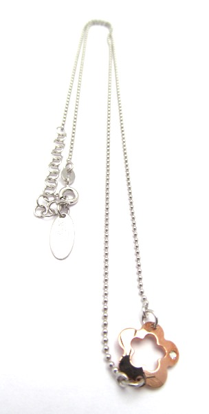 Rose Gold Flower Chain
