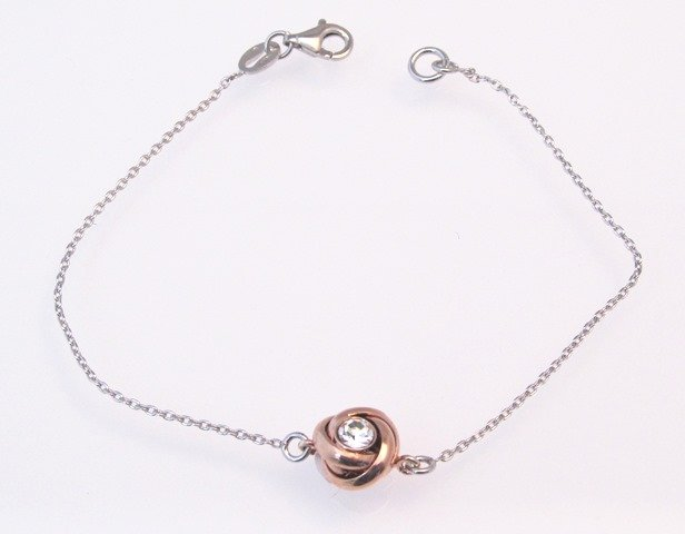 Rose Gold Knot Bracelet