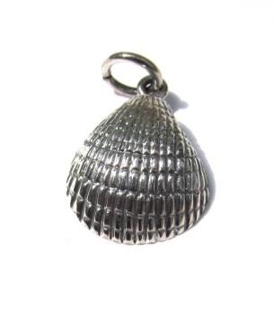 Small Silver Shell Pendant