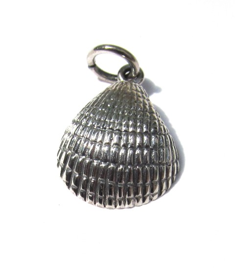 Small Silver Shell Pendant