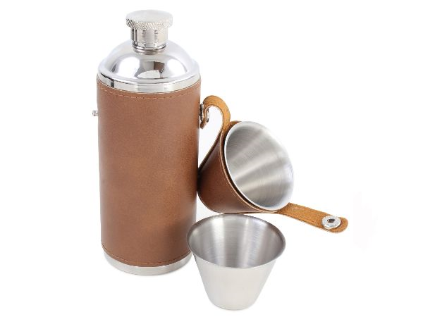 Hunter Design Hip Flask