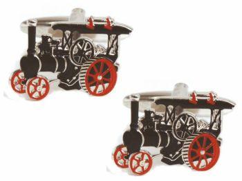 Traction Engine Cufflinks