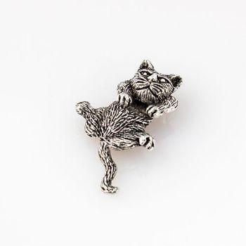 Silver Cat Pendant