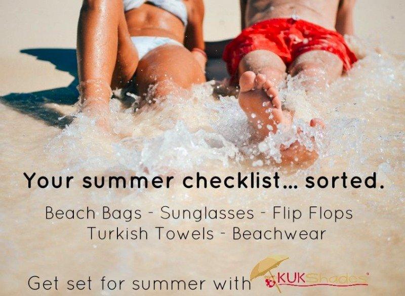 summer checklist sorted
