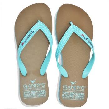 Gandys Flip Flop - Zircon Blue - Mens
