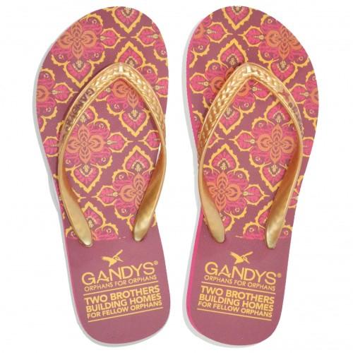 Gandys Flip Flop - Marrakesh Print