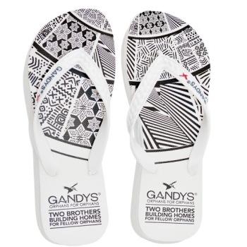 Gandys Flip Flops - Tribal Inspired Print