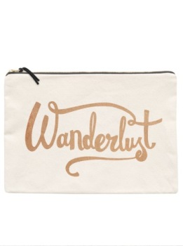 Travel Pouch - Large - Wanderlust
