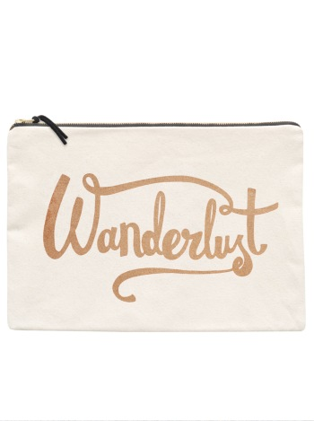 Large Travel Pouch - Wanderlust