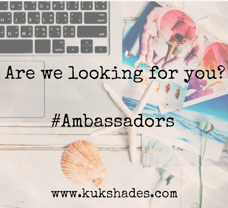 Become an Ambassador for KUKShades.