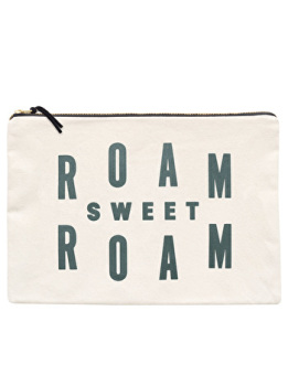 Travel Pouch - Large - Roam Sweet Roam