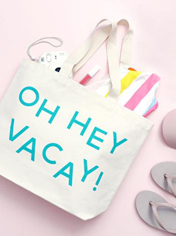 Oh Hey Vacay - Beach Bag