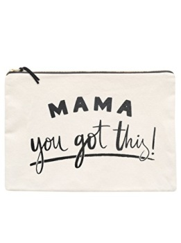 Large Travel Pouch - Mama, You Got This.