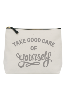 Large Wash Bag - Take Good Care