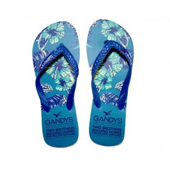 Gandys Flip Flops - Tropical Print