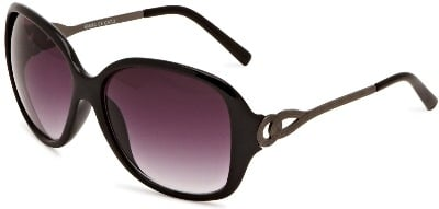 Ladies Oversize Fashion Sunglasses - Smoke Tint