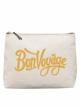 Large Wash Bag - Bon Voyage