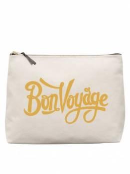 Large Wash Bag - Bon Voyage