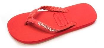 Gandys Flip Flops - Necker Red - Mens