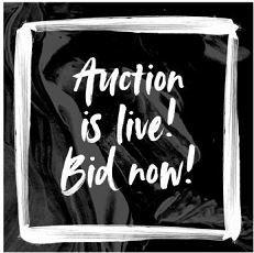 secret art auction logo