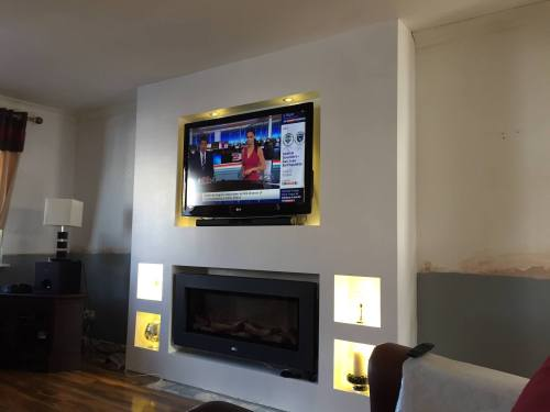 tv wall light boxes
