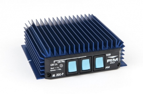 KL200/P Linear Amplifier 25-30MHz 100W with switchable preamplifier