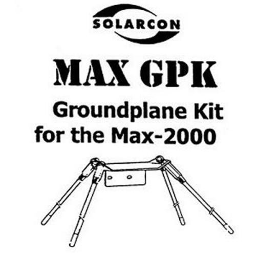 Solarcon MAX-GPK Groundplane Kit for IMAX-2000