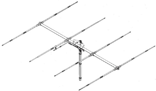 Sirio SY27-4 4 Element Yagi Beam Antenna