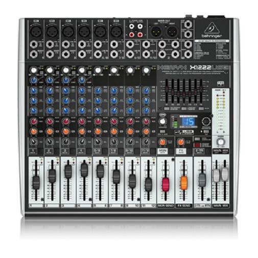 Behringer X1222USB Xenyx Small Format Mixer