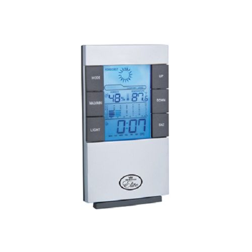 DIGITAL WEATHER STATION CLOCK 12/24 HOUR DISPLAY