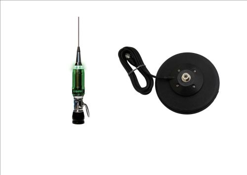 SIRIO PERFORMER 5000 PL MOBILE CB ANTENNA (WITH LED) + MAG-145PL MAGMOUNT