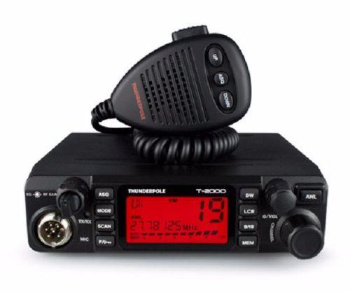 THUNDERPOLE T-2000 | CB 27 MHz AM/FM MOBILE TRANSCEIVER