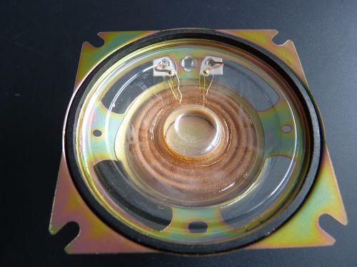 GENERAL PURPOSE 80mm MYLAR CONE LOUDSPEAKER  8 ohm 12 Watts
