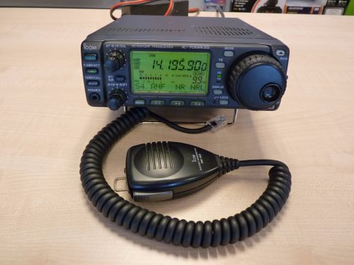 ICOM IC-706MKII G TRANSCEIVER WITH OPTIONAL UT-106 DSP BOARD