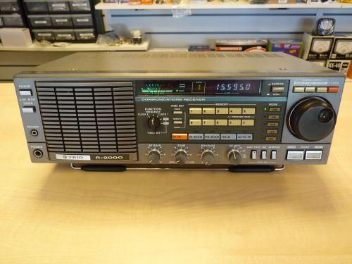 KENWOOD TRIO R-2000 COMMUNICATIONS RECEIVER 0.15 - 30 MHz PLUS VHF CONVERTE